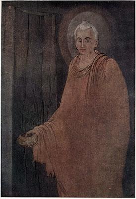 buddha medicant abanindranath tagore paintings