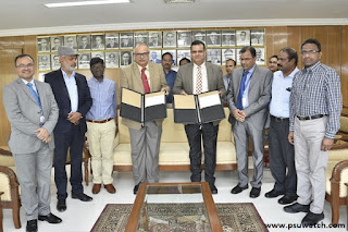 MoU signed Between SCR of Indian Railways and SBI