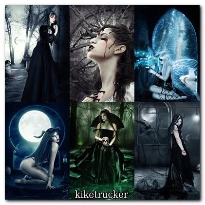 Wallpapers Dark Fantasy Girls