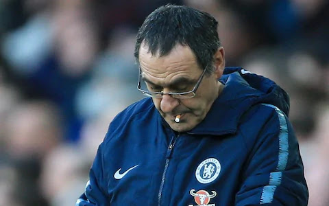 Maurizio Sarri is not the man to take Chelsea forward.