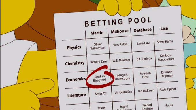 'The Simpsons' Predicted Monday's Nobel Prize in 2010 (VIDEO)
