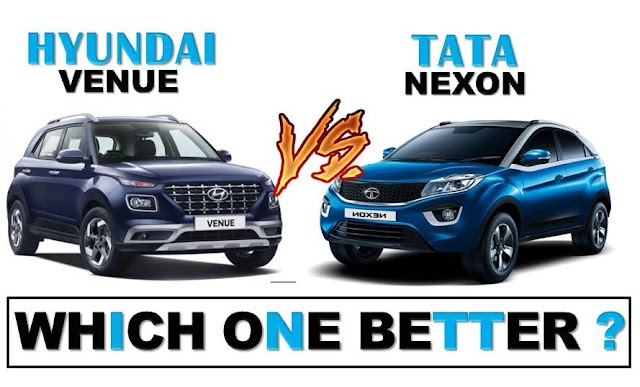 Hyundai Venue Vs Tata Nexon Details Comparison In Hindi