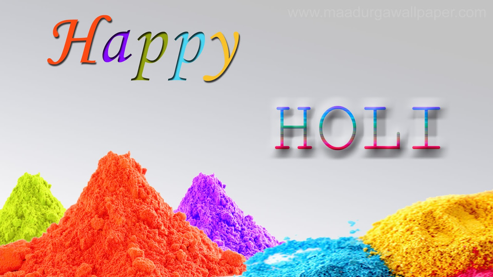 Happy Holi HD Wallpapers with Holi HD Images