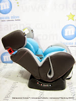 Convertible Baby Car Seat CocoLatte CL858 Group 0+, 1 dan 2 (New Born - 25kg)