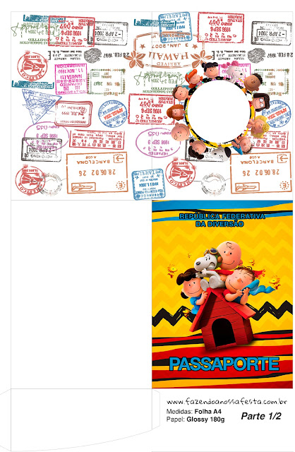 Snoopy and Charlie Brown: Free Party Printables. | Oh My Fiesta! in ...
