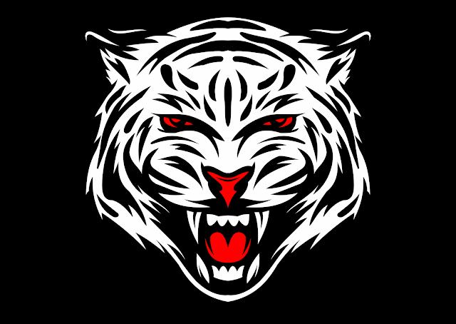 White Bengal Tiger Vector / Macan Putih Vector CorelDraw