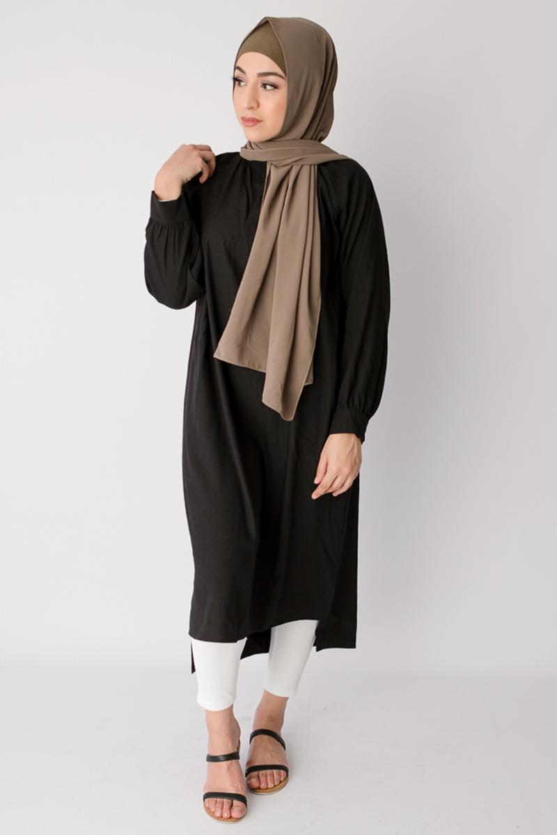 maxi dress muslimah baju lebaran