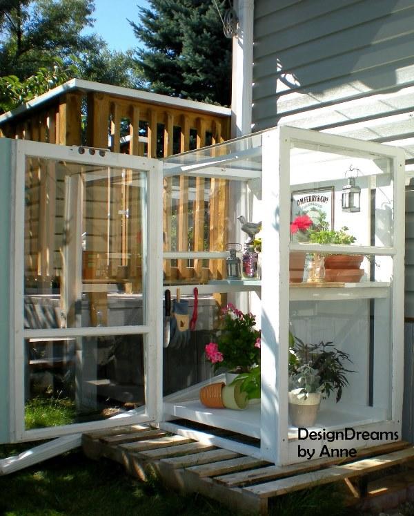 Mini Greenhouse Tutorial