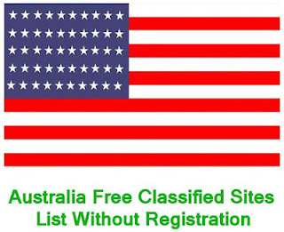 Free Classified Sites List in Australia Without Registration