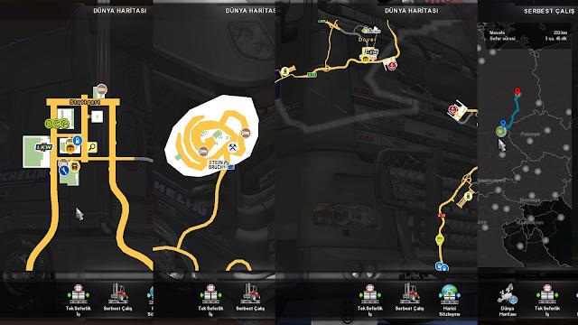 ets 2 google maps navigation for promods v1.9 screenshots 3