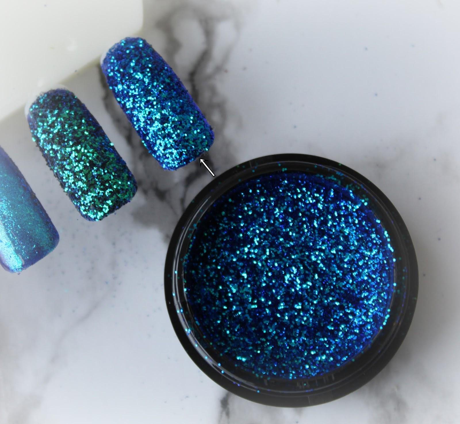 Kolekcja pyłków do paznokci RAINBOW od NC Nails Company