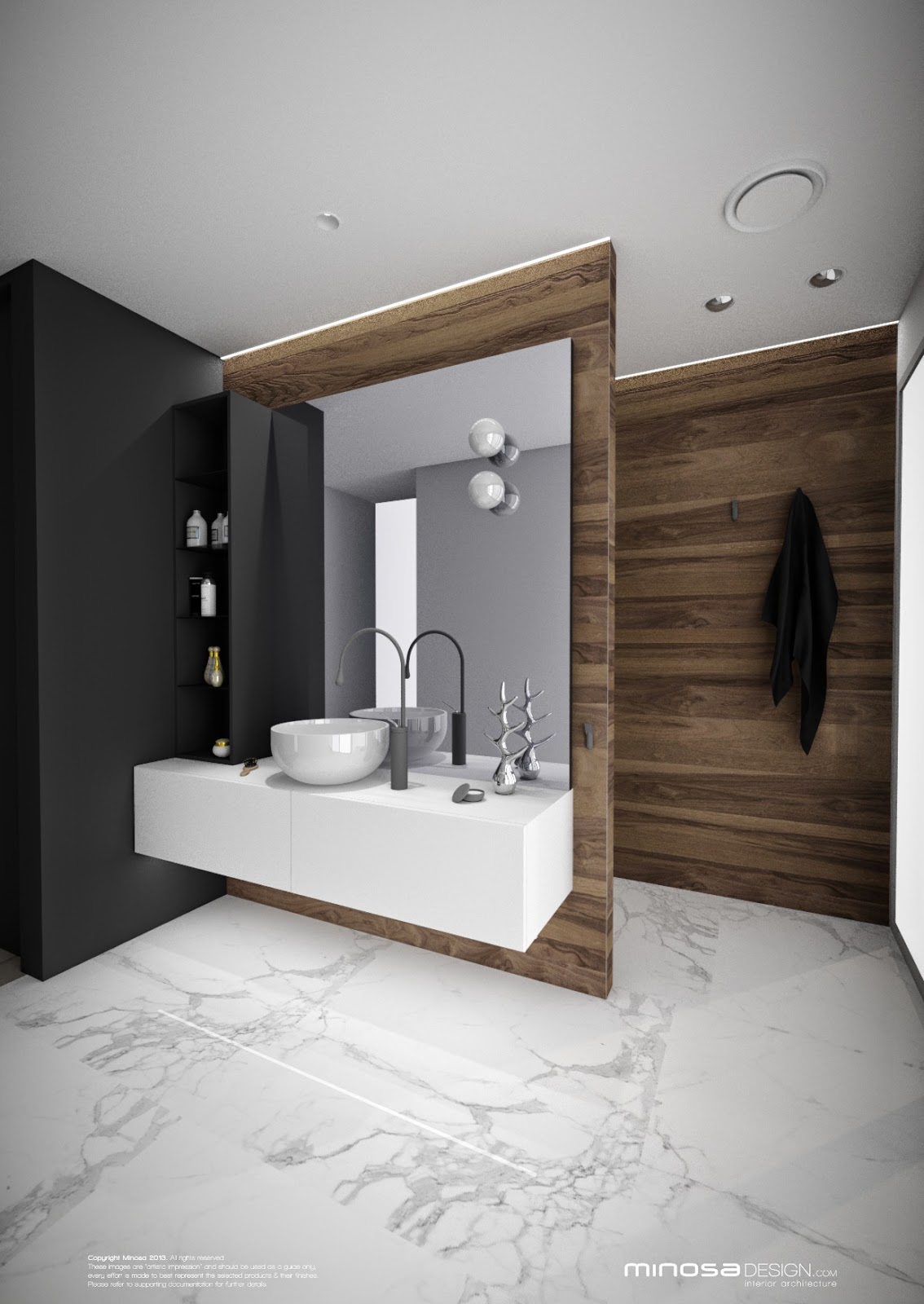 Minosa 3d cad making life easy for Bathroom designs 3d free