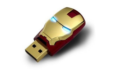 Limited Edition Iron Man USB Flash Drive