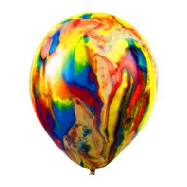 Многоцветный воздушные шарик