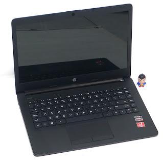 Laptop Baru HP 14-cm0005AU AMD RyZen 3 di Malang
