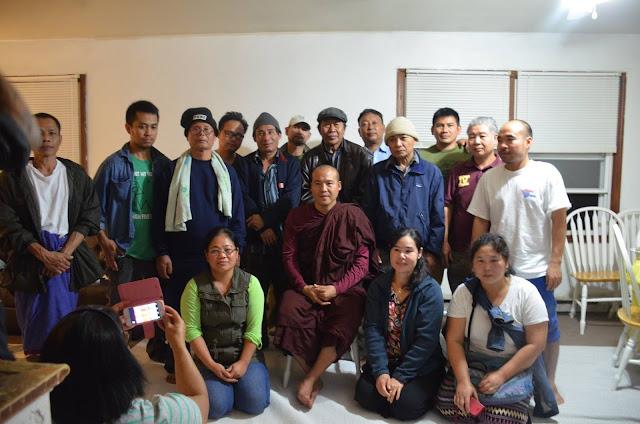 Karen Buddhist Society of Albany ကို ဖြဲ႕စည္းျပီ