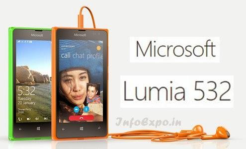MicrosoftLumia 532: Cheap 4 inch 1.2GHz Quad-core Windows 8.1 Smartphone Specs, Price