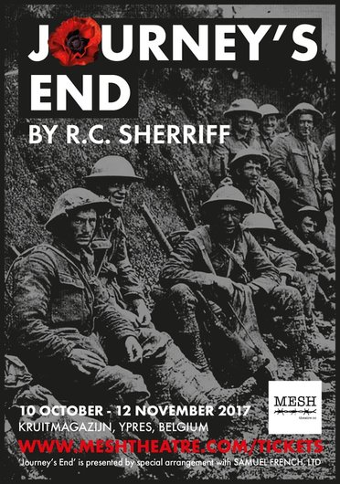 an analysis of the play journeys end by rc sherriff Journeys end film review: rc sherriff's landmark play was first staged 90 years ago but still feels powerful and moving on the big screen as we are immersed in.