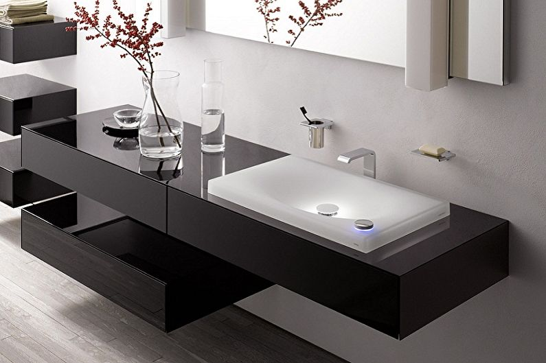 Top 30 Modern bathroom sink cabinet design ideas 2019