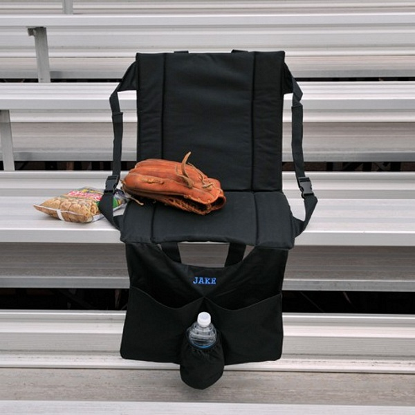 Personalized Cooler Stadium Chair