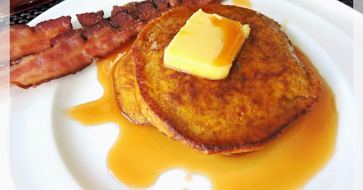 Just Jessie B: Easy Pumpkin Pancakes (Paleo)