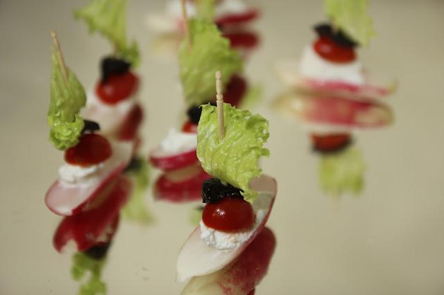 Radish Sail Boats Appetiser - Gluten-free Organic Recipe