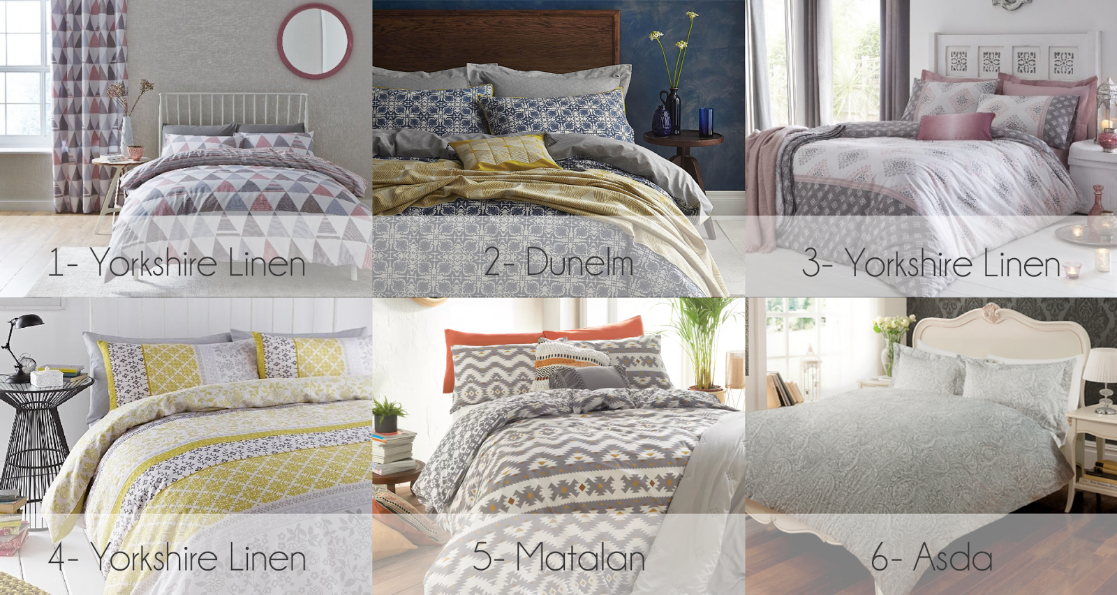 Begin the New Year with New Duvet covers