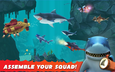 Hungry Shark Evolution v4.5.0 Mod Apk Terbaru Unlimited Coin