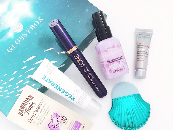 July Glossybox: Unboxing