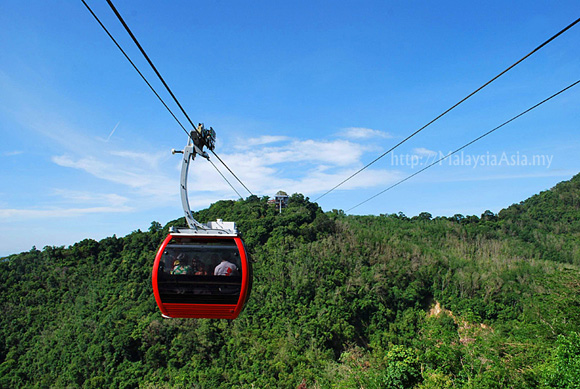 Cable Car at Hatyai