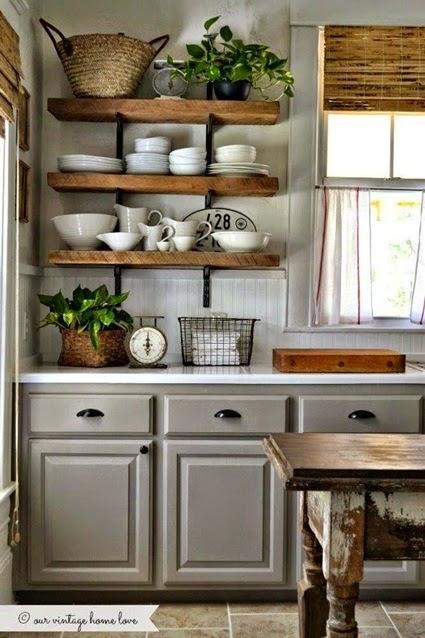 Inspiracje W Moim Mieszkaniu Kuchnia Z Otwartymi Półkami