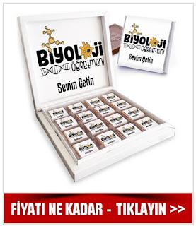 Biyoloji Öğretmenine Hediye