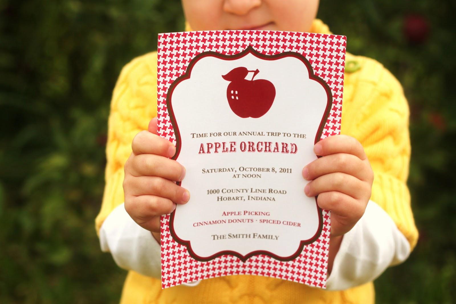 The Homespun Hostess Apple Pickin