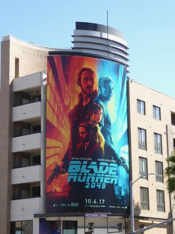 Blade Runner 2049 movie billboard