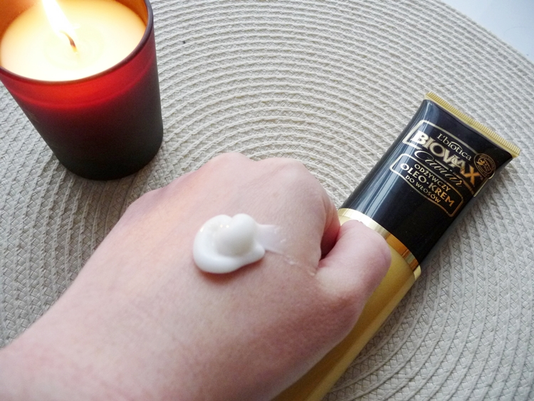 Odżywczy oleokrem L'biotica Biovax Glamour Caviar