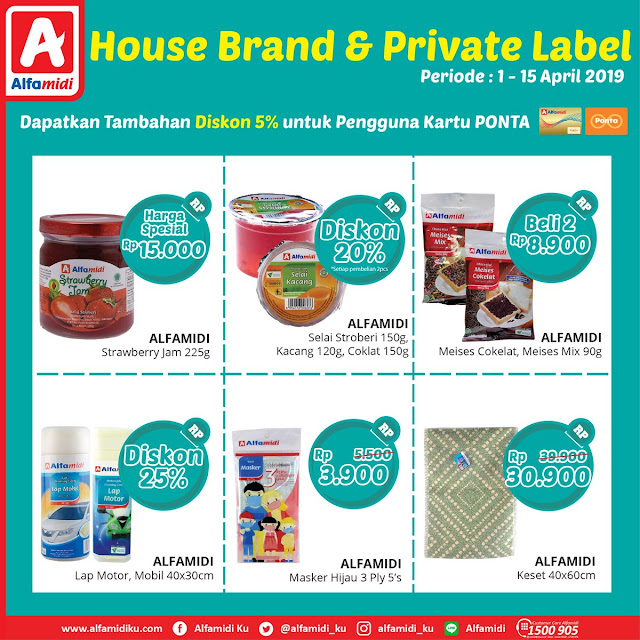 #Alfamidi - #Promo Katalog House Brand & Private Label (s.d 15 April 2019)