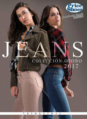 Catalogo Price shoes 2017 jeans mujer otoño invierno