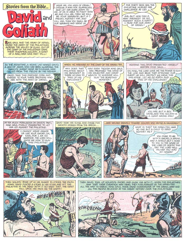 Professor H's Wayback Machine: Stories from the Bible, 1955
