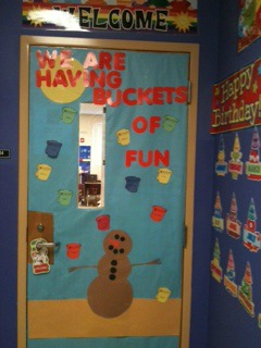 Two Puzzle Pieces and a Princess: Classroom Door Decoration