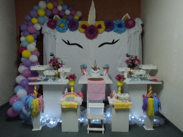 Atelier ArteFolia decoraç u00e3o de festa infantil unicórnio