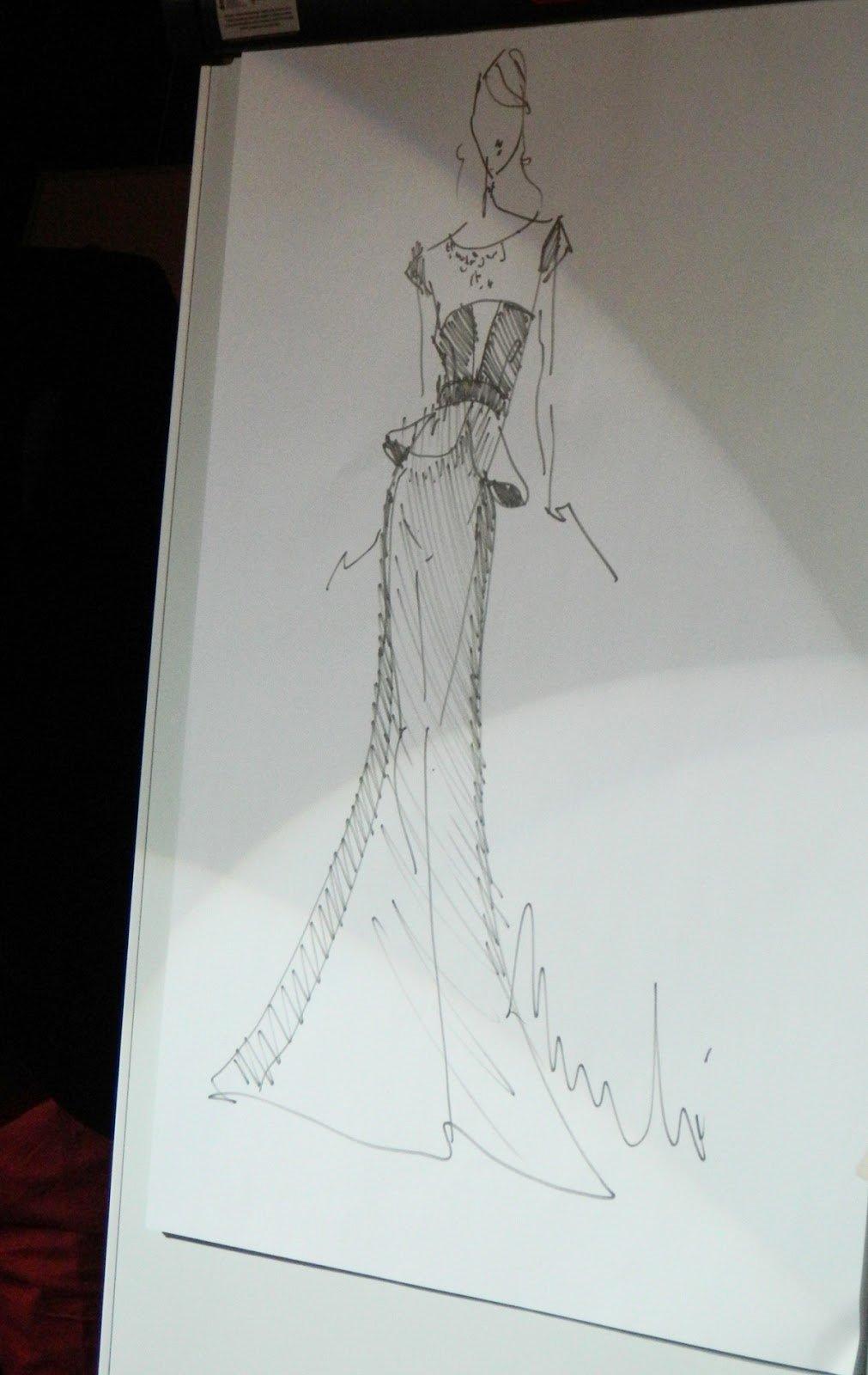 szkic-sukienki