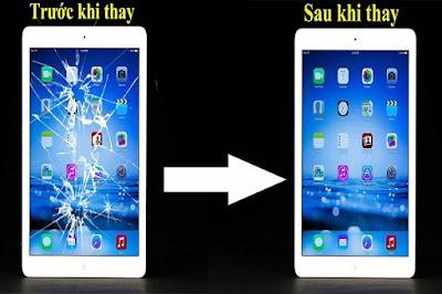 Thay mặt kính iPad 3 chính hãng
