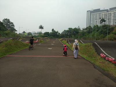 Taman terluas dengan wahana olahraga extreme