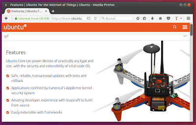 Ubuntu Core Características