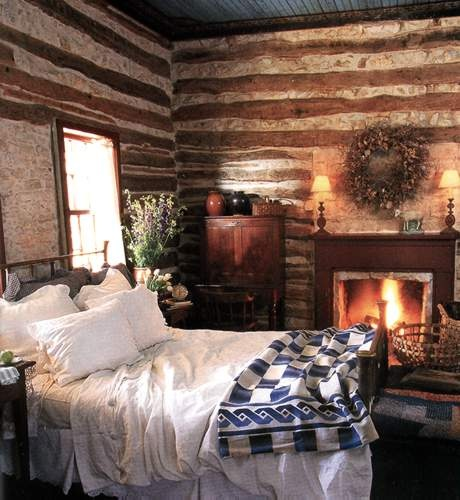 Build This Cozy Cabin Cozy Cabin Magazine Do It Yourself: Country Girl At Home: ♥ Warm And Cozy