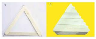 Tutorial tempat pensil bentuk prisma segitiga
