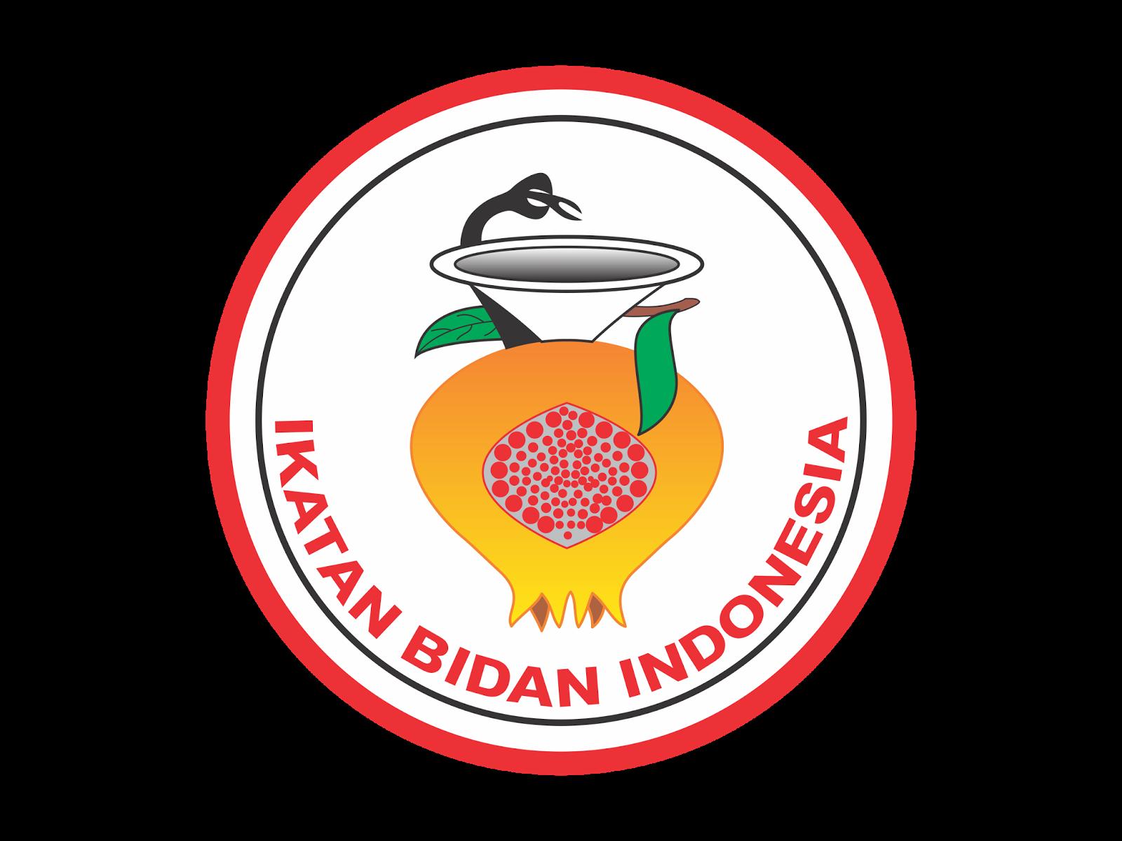 logo ikatan bidan indonesia ibi format cdr amp png