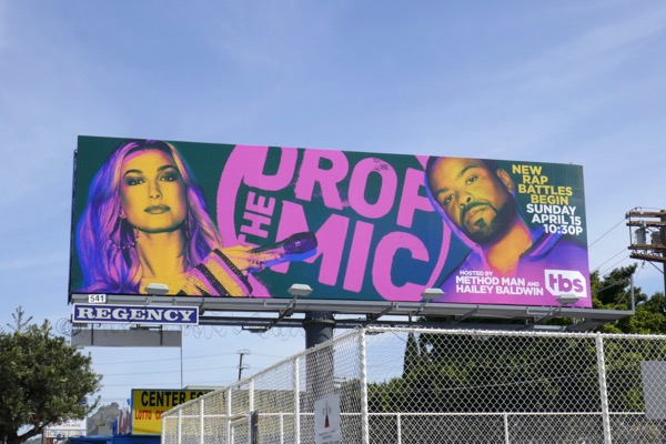 Drop the Mic season 2 billboard