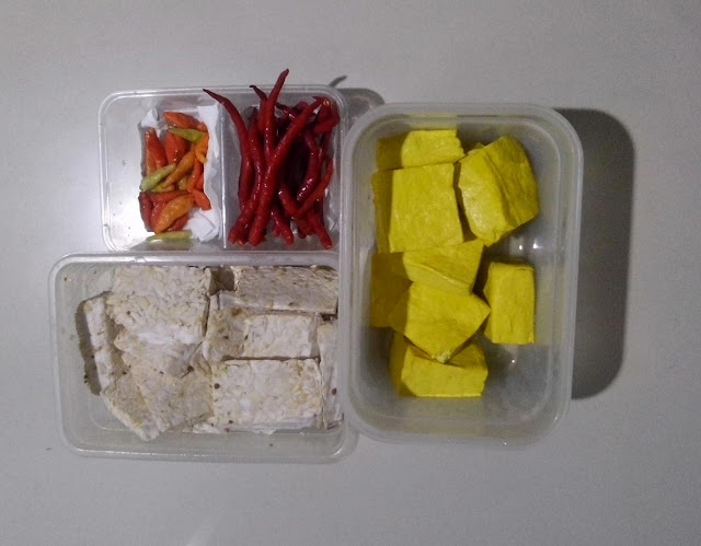food prep atau food preparation lauk pauk