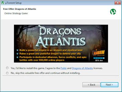 Adware dari uTorrent